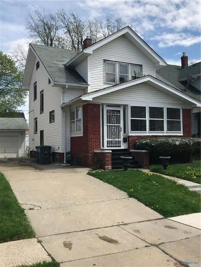 Toledo OH Single Family Home For Sale: $24,888