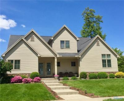 Sylvania Single Family Home Contingent: 8756 Oak Hollow Road