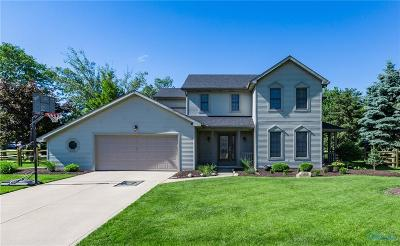 Perrysburg Single Family Home Contingent: 1226 Sutton Place