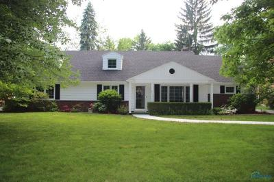 Toledo Single Family Home Contingent: 2723 Tamarack Drive