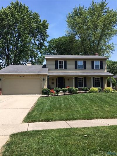Rossford Single Family Home Contingent: 508 Highland Drive
