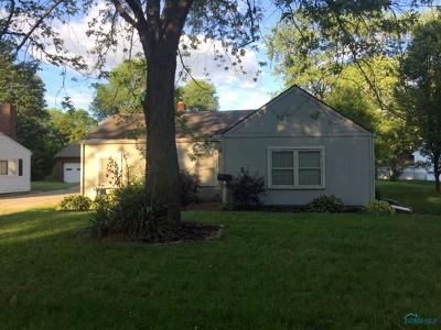 Toledo OH Single Family Home For Sale: $56,900