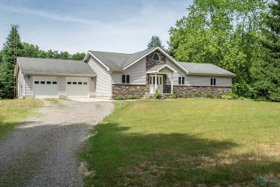 Ottawa Hills, Monclova, Oregon, Rossford, Swanton, Berkey, Metamora, Lyons, Whitehouse, Waterville Single Family Home For Sale: 2747 County Road 4-1