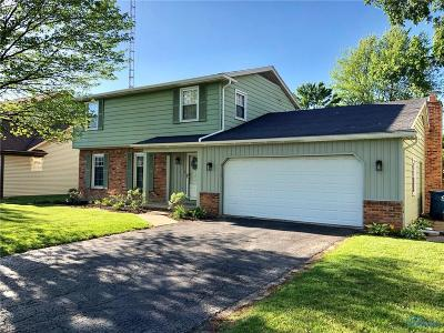 Maumee Single Family Home For Sale: 6658 Santo Lane