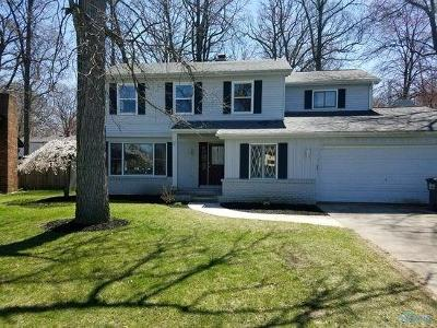Toledo Single Family Home Contingent: 3913 Archwood Lane