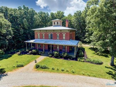 Single Family Home For Sale: 9507 Township Road 107 Road