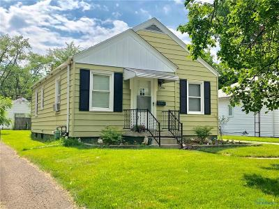 Toledo OH Single Family Home For Sale: $60,000