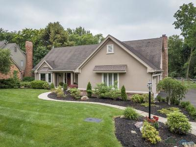Ottawa Hills, Monclova, Oregon, Rossford, Swanton, Berkey, Metamora, Lyons, Whitehouse, Waterville Single Family Home Contingent: 5010 W Dauber Drive