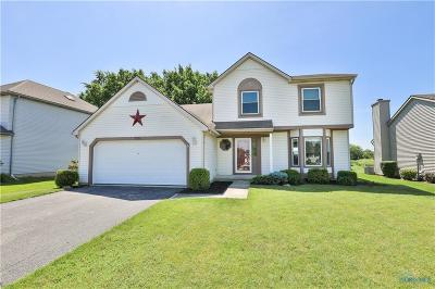 Perrysburg Single Family Home For Sale: 7291 Twin Lakes Road