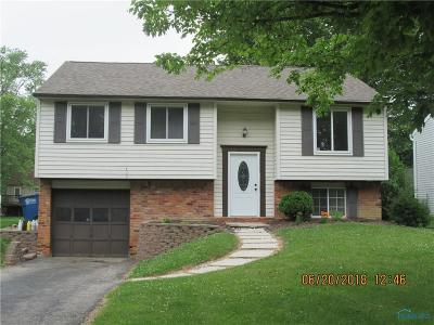 Toledo OH Single Family Home For Sale: $74,500