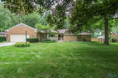 Toledo Single Family Home For Sale: 3523 Westchester Road