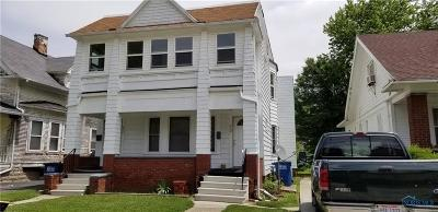 Toledo OH Multi Family Home For Sale: $39,900