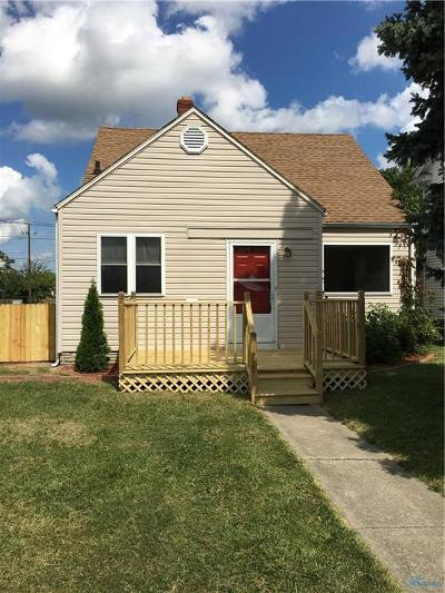 Toledo OH Single Family Home For Sale: $68,900
