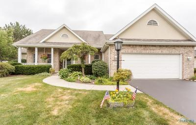 Perrysburg Single Family Home For Sale: 566 Harrison Road