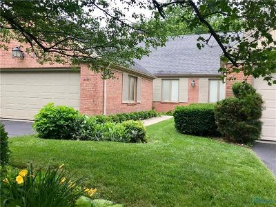 Perrysburg Condo/Townhouse For Sale: 29271 Bates Road
