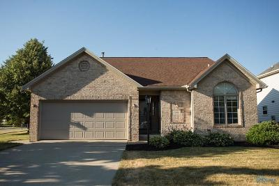 Perrysburg Single Family Home Contingent: 7297 W Lake Road