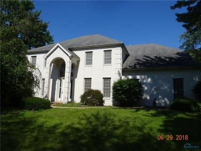 Toledo Single Family Home Contingent: 3802 N McCord Road