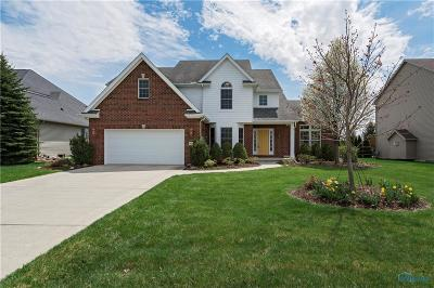 Perrysburg Single Family Home For Sale: 14593 Lake Meadows Drive