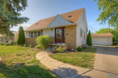 Maumee Single Family Home Contingent: 672 Midfield Drive