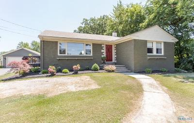 Perrysburg Single Family Home For Sale: 10629 Avenue Road