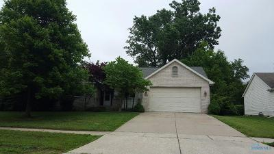 Maumee Single Family Home For Sale: 1675 Henthorne Drive