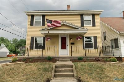 Toledo OH Single Family Home For Sale: $77,900