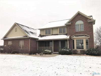 Perrysburg Single Family Home For Sale: 25009 Farewell Drive