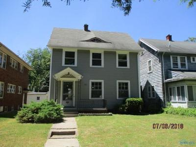 Toledo OH Single Family Home Contingent: $19,000