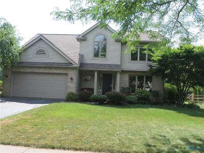Perrysburg Single Family Home For Sale: 1028 Hunters Run