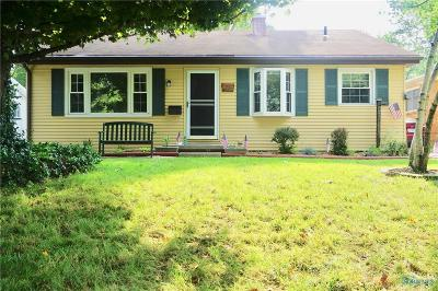 Toledo OH Single Family Home For Sale: $124,900