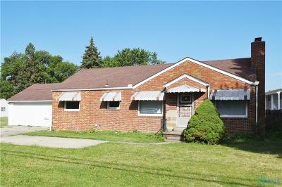 Toledo OH Single Family Home For Sale: $87,777