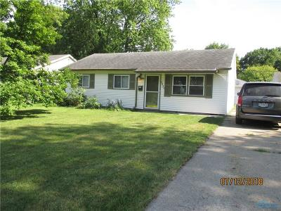 Toledo Single Family Home For Sale: 3839 Donegal Drive