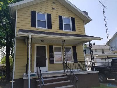 Toledo OH Single Family Home For Sale: $42,900