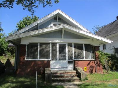 Toledo OH Single Family Home For Sale: $42,500