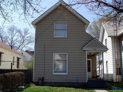 Toledo OH Single Family Home For Sale: $21,000