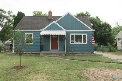 Toledo OH Single Family Home For Sale: $69,900