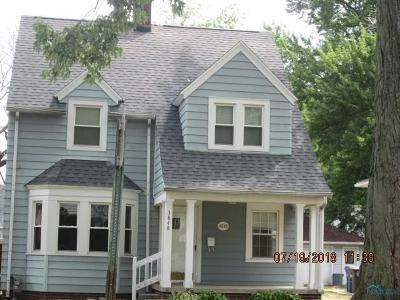 Toledo OH Single Family Home For Sale: $106,900