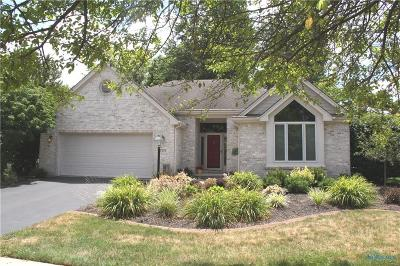 Toledo Single Family Home Contingent: 7533 Kings Hollow Court