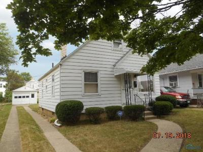 Toledo OH Single Family Home For Sale: $45,900