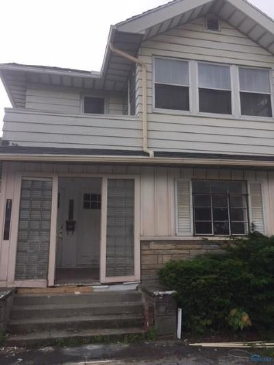 Toledo OH Multi Family Home For Sale: $160,000