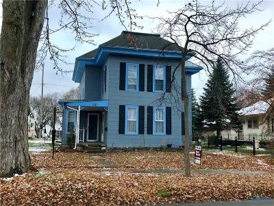 Swanton Single Family Home For Sale: 203 N Main Street