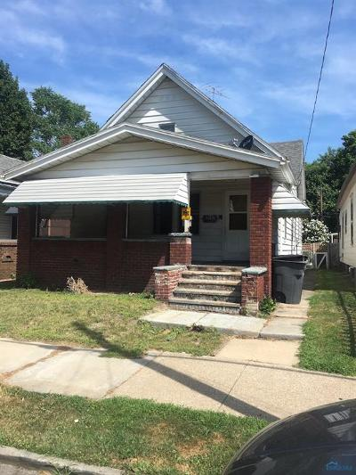Toledo OH Single Family Home For Sale: $17,500