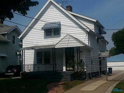 Toledo OH Single Family Home For Sale: $22,000