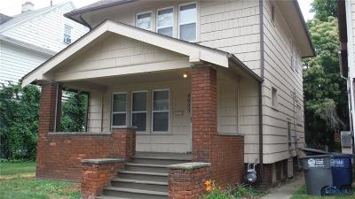 Toledo OH Single Family Home For Sale: $75,000
