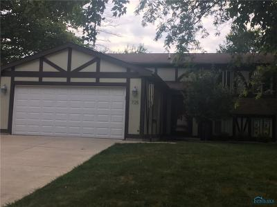 Maumee Single Family Home For Sale: 725 Meadow Springs Court