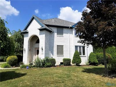 Perrysburg Single Family Home For Sale: 1960 Hamilton Drive