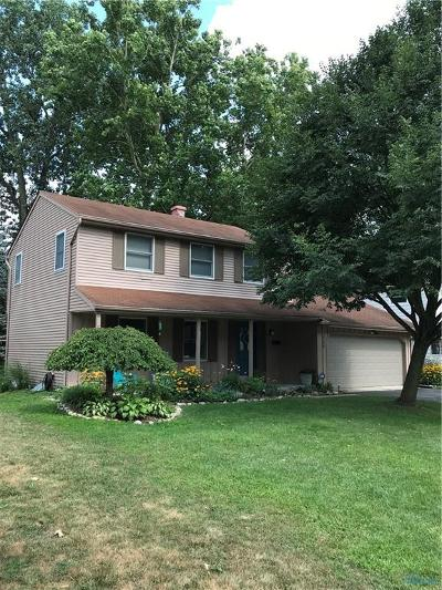 Sylvania OH Single Family Home For Sale: $180,000