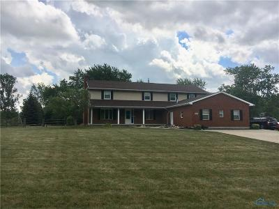 Perrysburg Single Family Home For Sale: 9751 Mandell Road