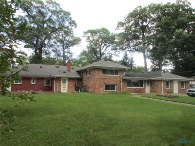 Toledo Single Family Home For Sale: 3235 W Laskey Road