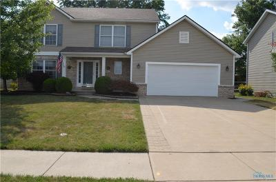 Rossford Single Family Home Contingent: 712 W Ironwood Drive